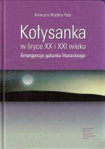 Okładka książki: Kołysanka w liryce XX i XXI wieku