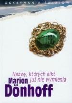 Okładka książki: Nazwy, których nikt już nie wymienia