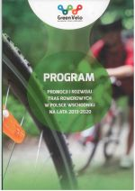 Okładka książki: Program promocji i rozwoju tras rowerowych w Polsce wschodniej na lata 2013-2020