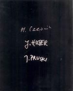 Okładka książki: Henryk Cześnik, Jürgen Huber, Jan Pruski