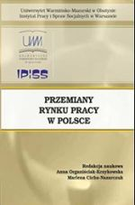 Okładka książki: Przemiany na rynku pracy w Polsce