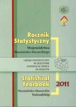 Okładka książki: Rocznik statystyczny województwa warmińsko-mazurskiego 2011