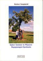 Okładka książki: Später Sommer in Masuren Begegnungen-Spotkania