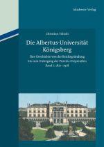 Okładka książki: Die Albertus-Universität Königsberg