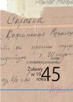 Okładka książki: Żuławy w 1945 roku